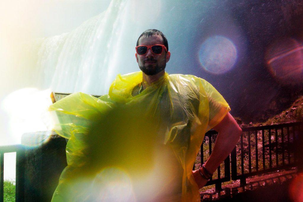 Dave At Niagara Falls